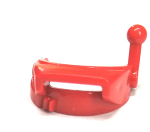 LEGO Red Minifig Accessory Helmet Visor with Antenna