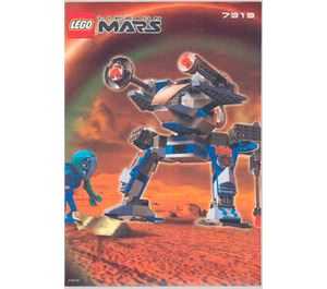LEGO Red Planet Protector Set 7313 Instructions