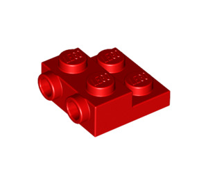 LEGO Red Plate 2 x 2 x 2/3 with 2 Studs on Side (99206)
