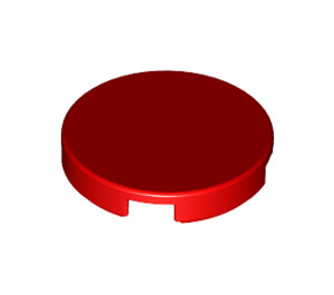 LEGO Red Round Tile 2 x 2 with Bottom Stud Holder (14769)
