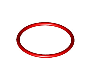 LEGO Red Rubber Band 25 mm (71321 / 700051)
