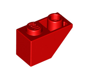 LEGO Red Slope 1 x 2 (45°) Inverted (3665)