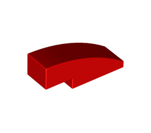 LEGO Red Slope 1 x 3 Curved (50950)