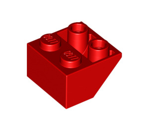 LEGO Red Slope 2 x 2 (45°) Inverted (3660)