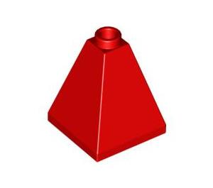 LEGO Red Slope 2 x 2 x 2 (75°) Quadruple (3688)
