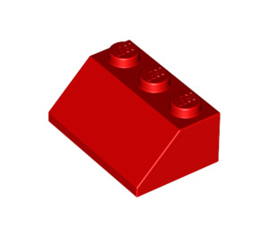 LEGO Red Slope 2 x 3 (45°) (3038)