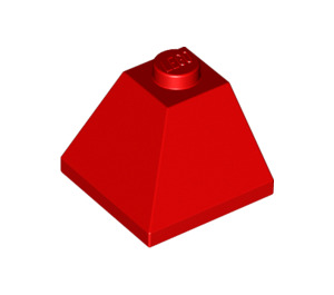 LEGO Red Slope 45° 2 x 2 (3045)