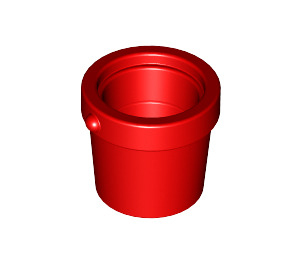 LEGO Red Small Bucket (95343)
