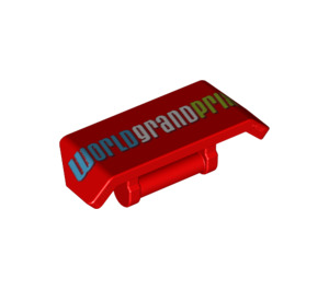 LEGO Red Spoiler with Handle with Decoration (70559)