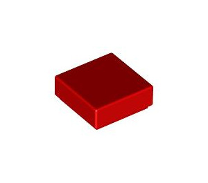 LEGO Red Tile 1 x 1 with Groove (3070)