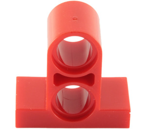 LEGO Red Tile 1 x 2 with Perpendicular Beam 2 (32530)