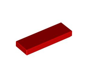 LEGO Red Tile 1 x 3 (63864)