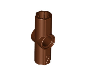 LEGO Reddish Brown Angle Connector #2 (180º) (32034)