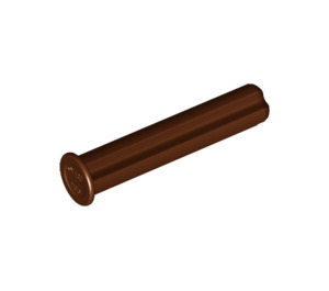 LEGO Reddish Brown Axle 3 with End Stop (24316)