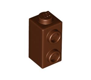 LEGO Reddish Brown Brick 1 x 1 x 1.66 with Two Side Studs (32952)