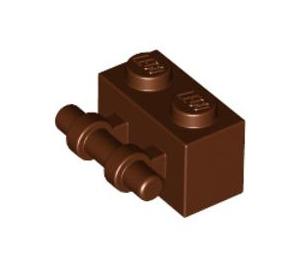 LEGO Reddish Brown Brick 1 x 2 with Handle (30236)