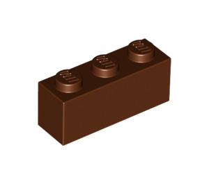 LEGO Reddish Brown Brick 1 x 3 (3622)
