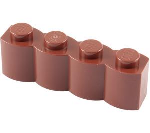 LEGO Reddish Brown Brick 1 x 4 Log (30137)