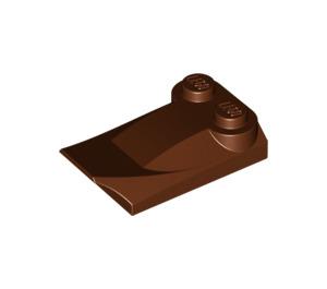 LEGO Reddish Brown Brick 2 x 3 x 0.6 with Wing (47456)