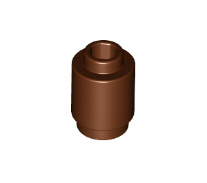 LEGO Reddish Brown Brick Round 1 x 1 with Open Stud (3062)