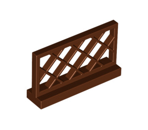 LEGO Reddish Brown Fence Lattice 1 x 4 x 2 (3185)