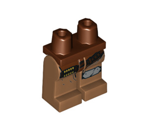 LEGO Reddish Brown McCree Minifigure Hips and Legs (46881)