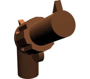 LEGO Reddish Brown Minifig Gun Revolver