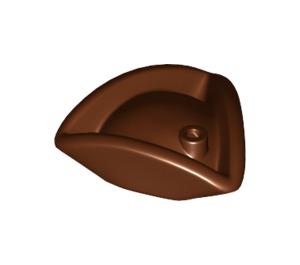LEGO Reddish Brown Minifig Hat Tricorne (2544)