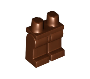 LEGO Reddish Brown Minifigure Hips and Legs (73200 / 88584)