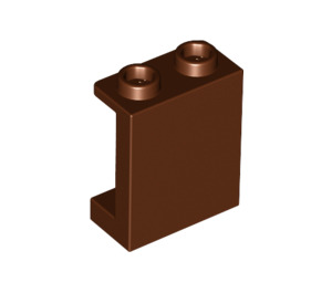 LEGO Reddish Brown Panel 1 x 2 x 2 with Side Supports, Hollow Studs (87552)