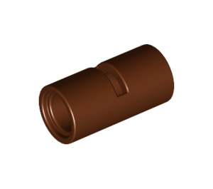 LEGO Reddish Brown Pin Joiner Round with Slot (29219 / 62462)