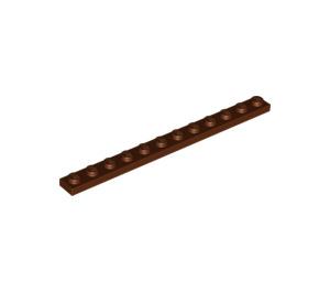LEGO Reddish Brown Plate 1 x 12 (60479)