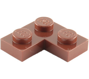 LEGO Reddish Brown Plate 2 x 2 Corner (2420)