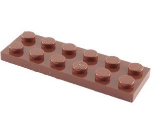 LEGO Reddish Brown Plate 2 x 6 (3795)
