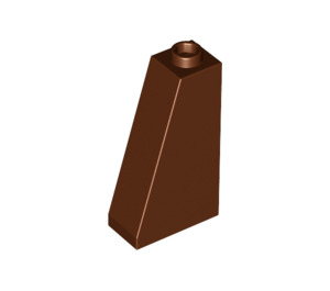 LEGO Reddish Brown Slope 75 2 x 1 x 3 with Hollow Stud (4460)