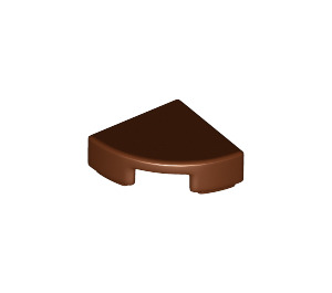 LEGO Reddish Brown Tile Quarter Circle 1 x 1 (25269)