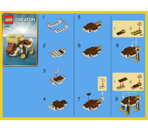 LEGO Reindeer Set 30027 Instructions
