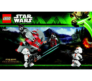 LEGO Republic Troopers vs. Sith Troopers Set 75001 Instructions