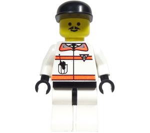 LEGO Res-Q 2 with Black Cap Minifigure
