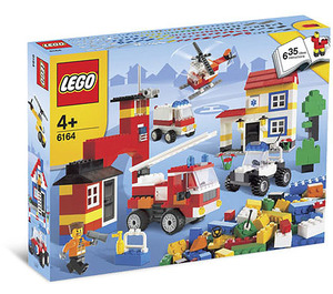 LEGO Rescue Building Set 6164 Packaging