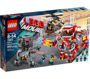 LEGO Rescue Reinforcements Set 70813 Packaging