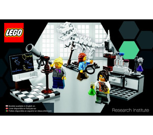 LEGO Research Institute Set 21110 Instructions
