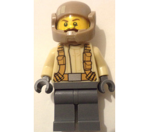 LEGO Resistance Trooper with Light Tan Jacket and Moustache (75131) Minifigure