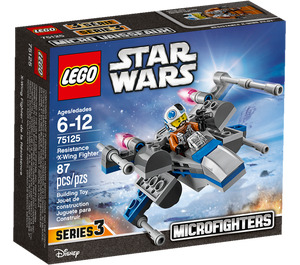 LEGO Resistance X-wing Fighter Microfighter Set 75125 Packaging