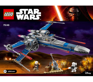 LEGO Resistance X-wing Fighter Set 75149 Instructions