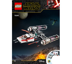 LEGO Resistance Y-wing Starfighter Set 75249 Instructions