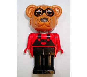 LEGO Ricky Raccoon 1986 Version Fabuland Minifigure