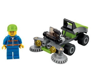 lego lawn mower instructions