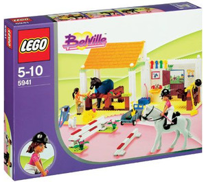 LEGO Riding School Set 5941 Packaging