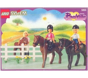 LEGO Riding Stables Set 5855 Instructions